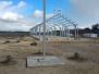 Konstrukcja kaplicy p.w. św. Ojca Pio w Rakowiskach 14 marca 2020 r.