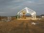 Konstrukcja kaplicy pw. św. Ojca Pio w Rakowiskach 10-11 marca 2020 r.